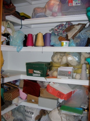 Yarn and fibre stash 1